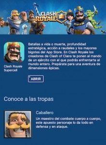 Descargar Clash Royale para iOS español