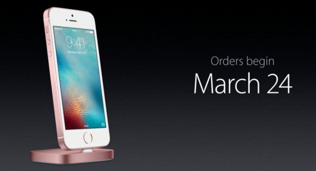iphone 5se lanzamiento