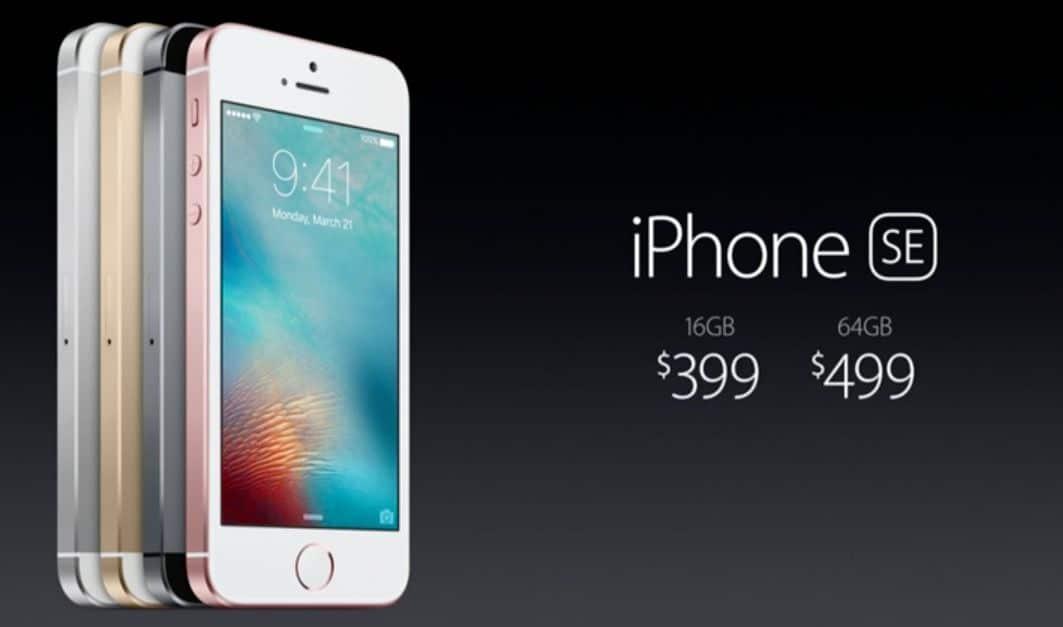iphone 5se precio