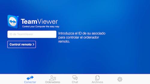 TeamViewer para iOS