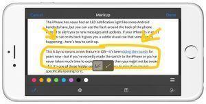 Marcando email IOS 9