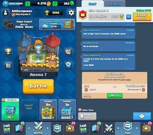 Clash Royale juego iOS