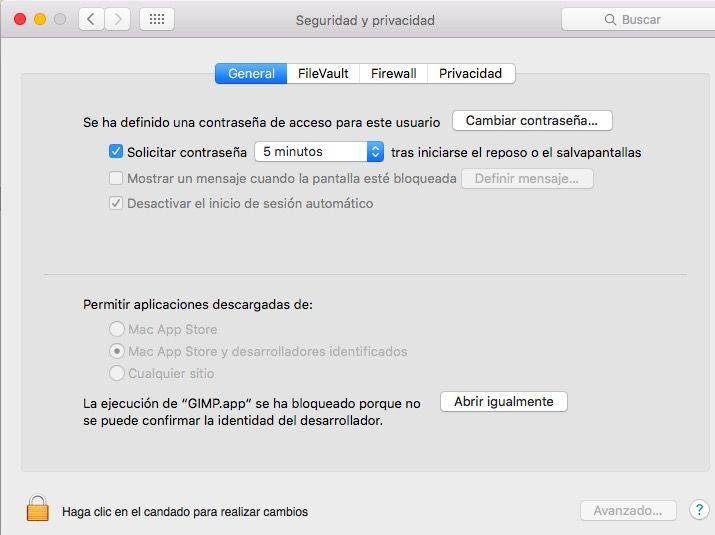 Instalar aplicaciones en Mac bajadas de Internet