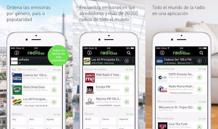 radio es app store