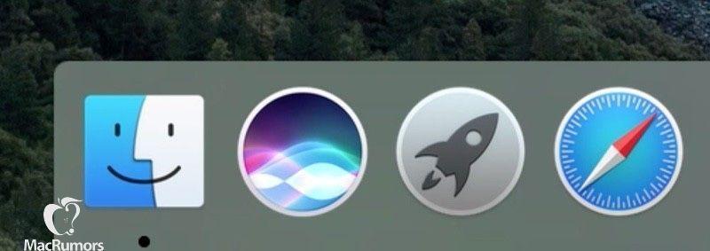 siri dock mac