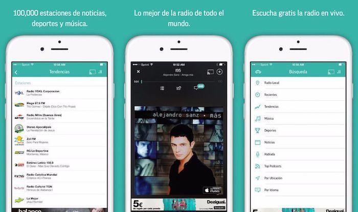tunein app store