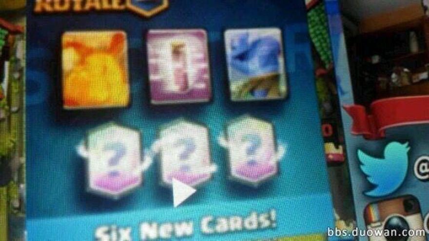 6 nuevas cartas clash royale