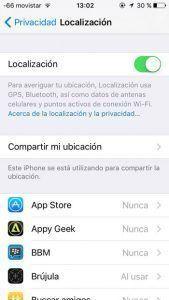 Localización apps