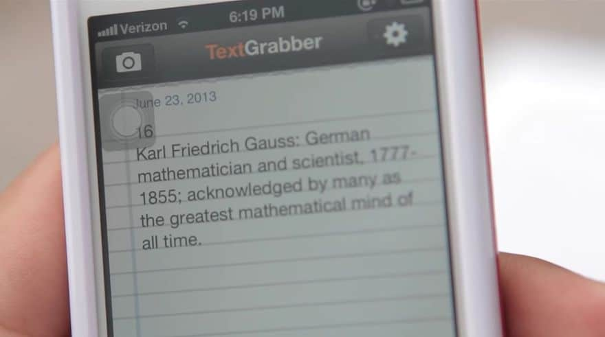 TextGrabber ios