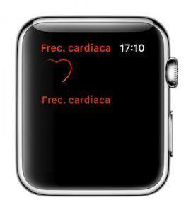 frecuencia cardiaca watchos 3