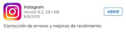 instagram 8.2