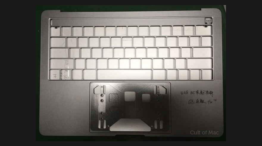 macbook pro filtrado oled