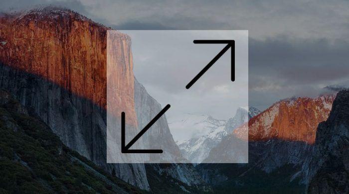 redimensionar imagen mac