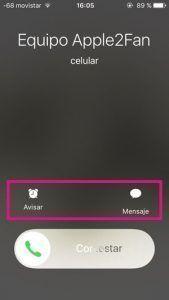 Llamadas iPhone
