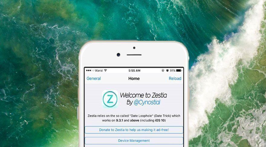 Zestia iOS