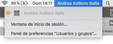 cambio usuario mac