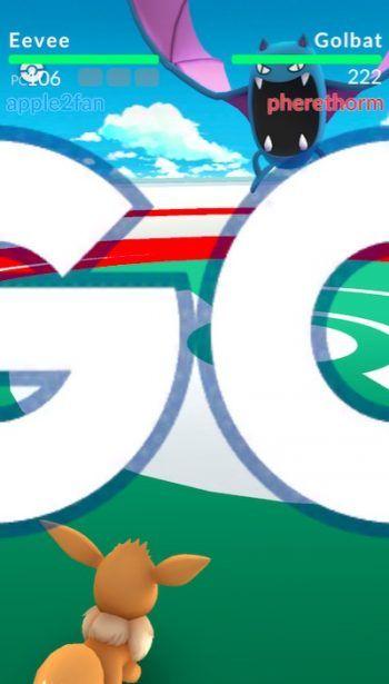 combate gimnasio pokemon go