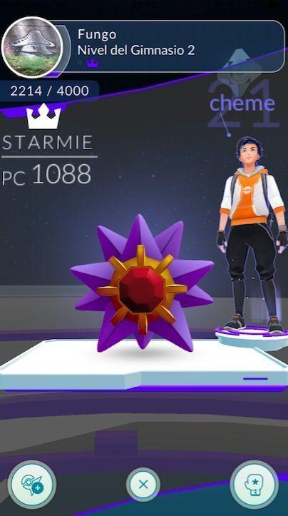 gimnasio pokemon go batalla