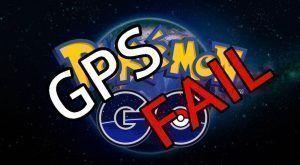 pokemon go problema gps