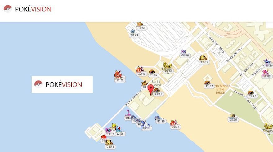 pokevision pokemon go encontrar todos