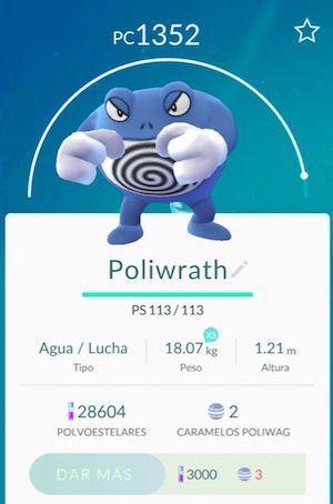 poliwrath pokemon go
