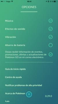 ahorro de bateria pokemon go