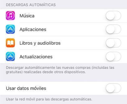 apple store actualizaciones automaticas