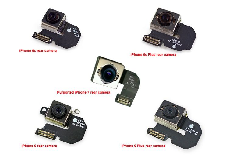 camara iphone 7 filtrada