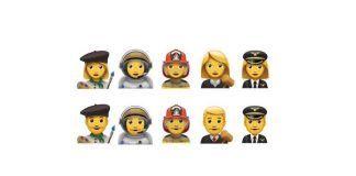 emojis nuevos profesiones