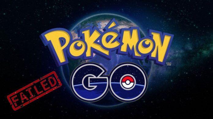 no se puede autenticar pokemon go