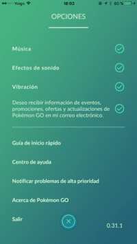 pokemon go elimina ahorro bateria