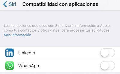 compatibilidad con aplicaciones