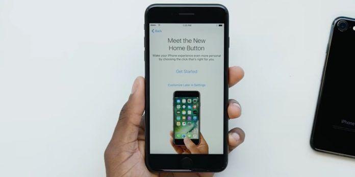 elegir presión en iPhone 7