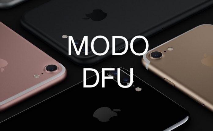 poner modo dfu iphone 7