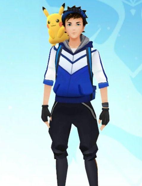 pikachu hombro pokemon go