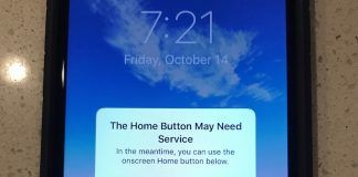 boton home iphone 7 no funciona respuesta ios