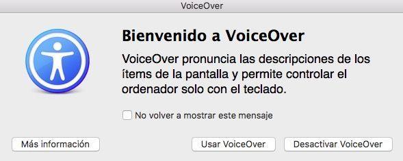 configuracion voiceover mac