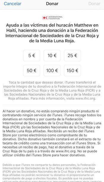 donacion cruz roja huracan matthew