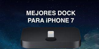 mejores dock iphone 7