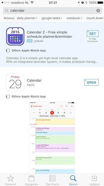 publicidad app store