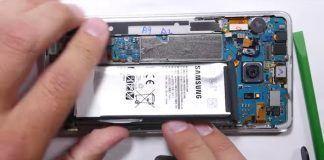 samsung galaxy note 7 problema bateria