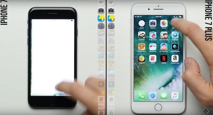 test velocidad iphone 7 iphone 7 plus