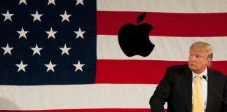 donald trump apple