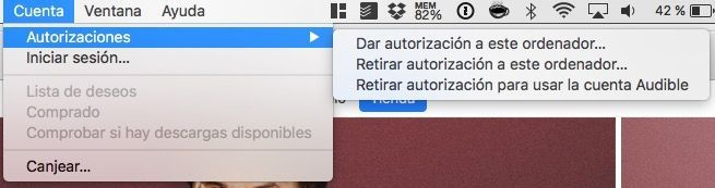 eliminar autorizacion itunes mac