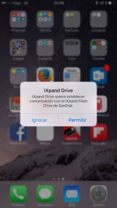 ixpand drive ios