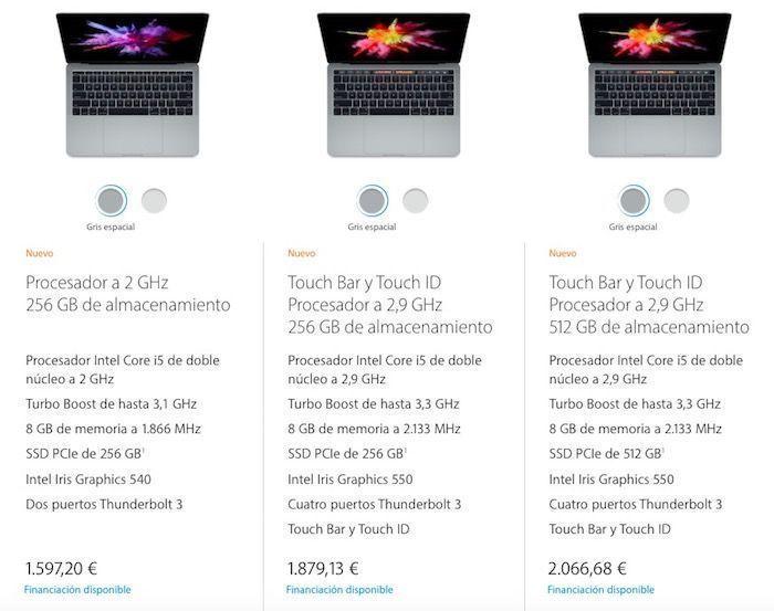 precios macbook pro educacion
