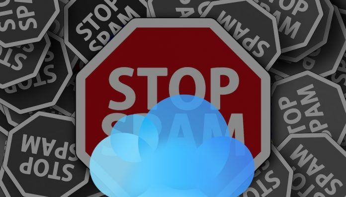 spam icloud