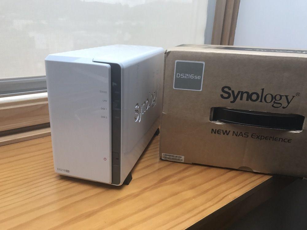 synology ds216se caja