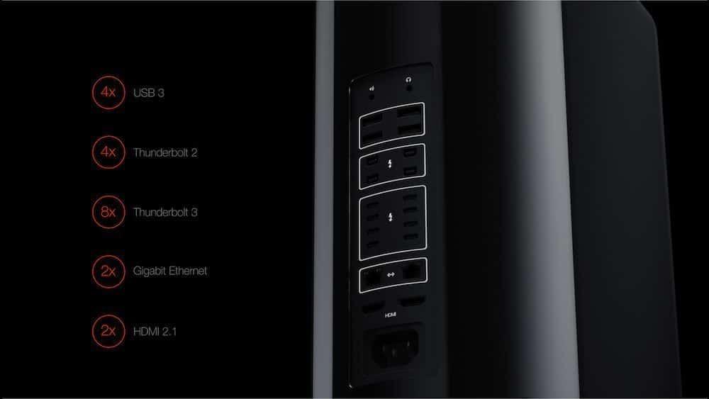 Mac Pro 2 puertos
