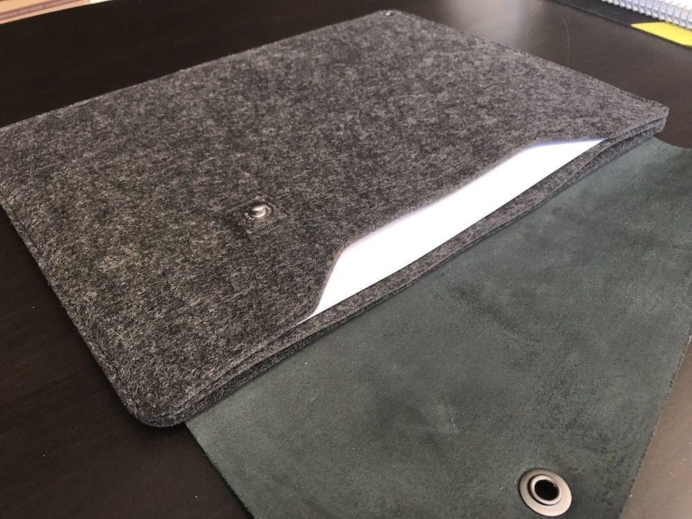 slevee mujjo macbook pro separador